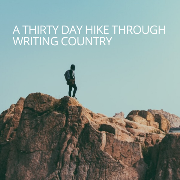 thirty day writing challenge