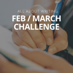 A twist of romance – or not: February/March Writing Challenge