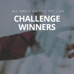 Announcing the winners of the December/January Writing Challenge