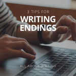 hands typing on laptop online creative writing course advice for writers writing endings